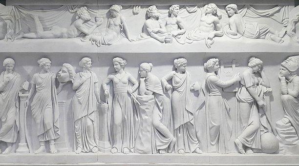 Greece, Greek Mythology, In, Roman, Mythology, Statue