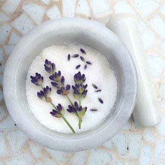 Lavender, Sugar, Lavandula, Lavender Sugar, Zucker