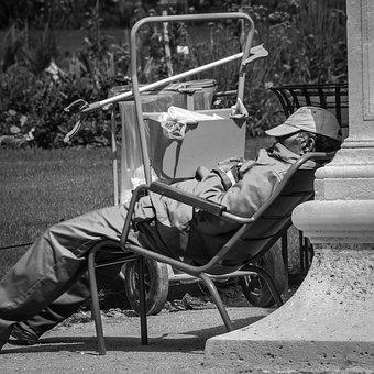 Paris, Street, Jardin Des Tuileries, Unusual, Relax