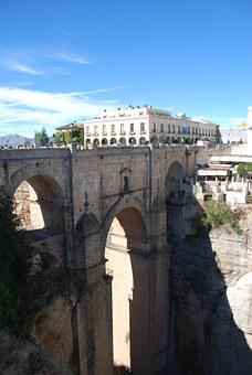 Round, Bridge, Roman, Architecture, Viaduct, Spain