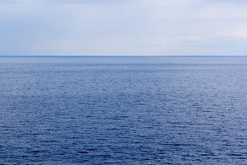 Sea, Horizon, Sky, Ocean, Arctic Ocean, Atlantic Ocean
