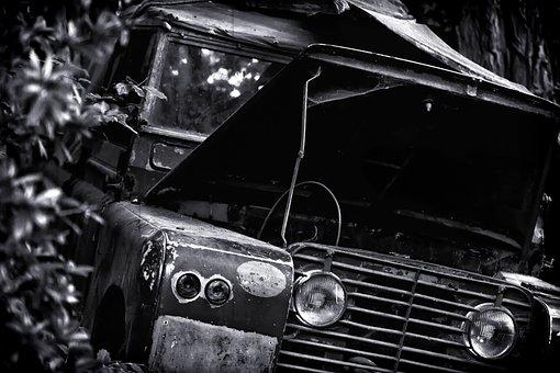 Jungle, Auto, Lost, Expedition, Accident, Broken, Jeep