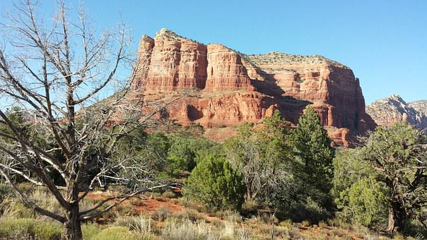 Bell Rock, Sedona, Az, Red Rocks