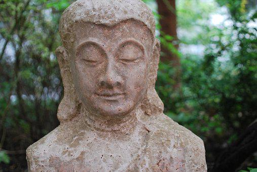 Religion, Buddha Figure, Garden, Asia, Eastern Religion