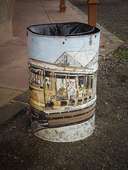 Trash, Bin, Waste, Garbage, Container, Can, Rubbish