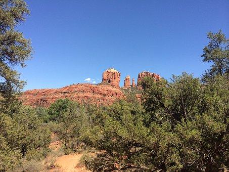 Vortex, Arizona, Sedona, Canyon, Meditation