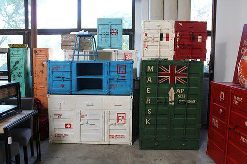 Container Furniture, Chest Of Drawers, Furniture