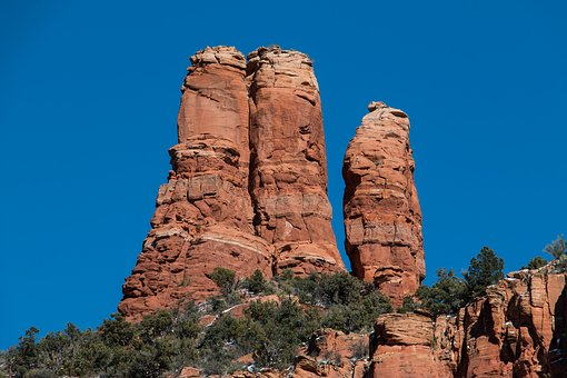 Sedona, Cliff, Arizona, Nature, Landscape, Scenery