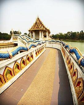 Thailand, Decoration, Oriental, Craft, Travel, Wat