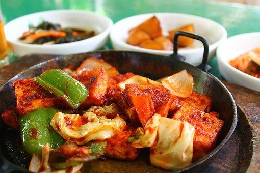 Korean Food, Korean Dish, Dish, Food, Meal, Vegetables