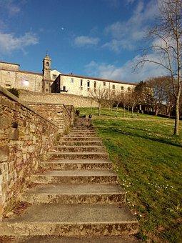 Santiago Of Compostela, Trail, Park, Galicia