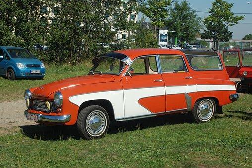 Wartburg 312, Auto, Oldtimer, Historically