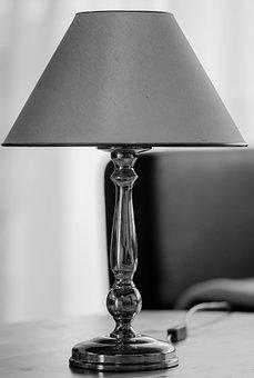 Table Lamp, Lamp, Lampshade, Decorative, Lighting