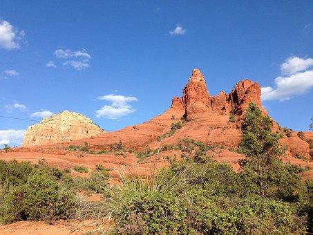 Sedona, Arizona, Desert, Landscape