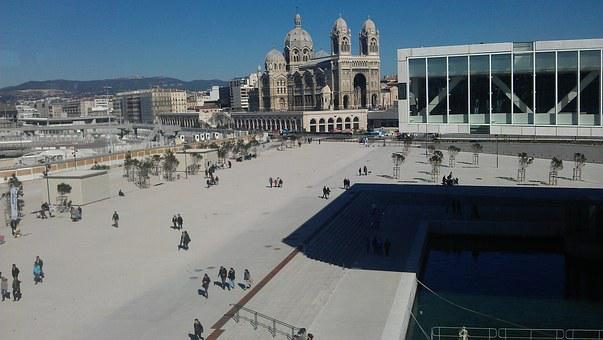 Mucem, Marseille, Cathedral Of The Major, Museum, Sea