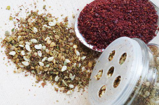 Sumac Lever, Zaatar, Pepper, Middle Eastern, Mixture