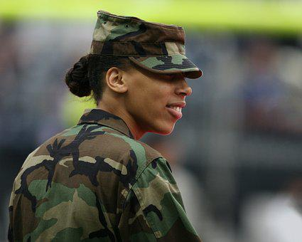 Military, Woman, Female, Armed Forces, Army, Soldier