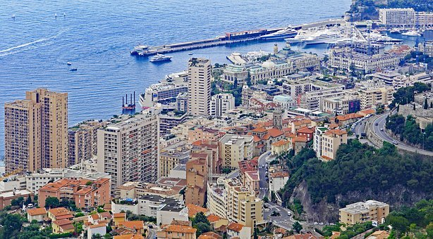 Monaco, Center, Monte Carlo, Skyscrapers, Densely Built