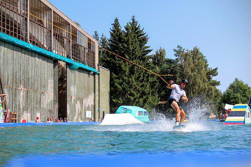 Water, Whale, Water Sports, Most Rope, Wakeboard, Surf