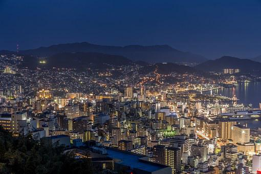 Nagasaki, Night View, Japan's Three Major Night View