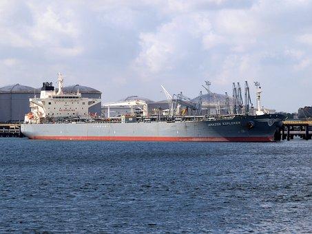 Amazon Explorer, Ship, Port, Rotterdam, Vessel, Water