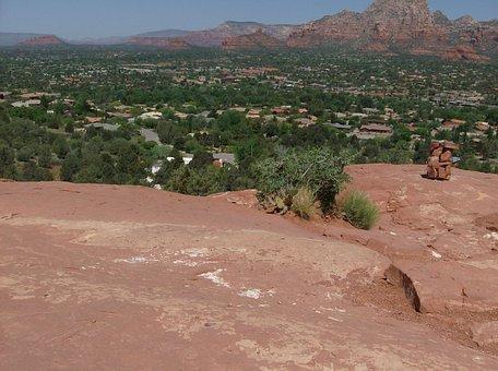 Sedona, Vortex, Mountain, Arizona, Rock, Scenic, Desert