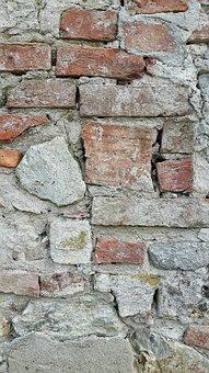 Wall, Stone, Bricks, Building, Plaster, Texture, Sassi