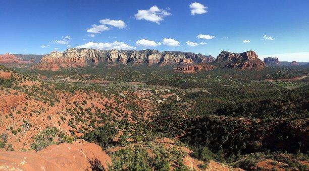 Sedona, Arizona, Southwest, Landscape, Desert, Scenic