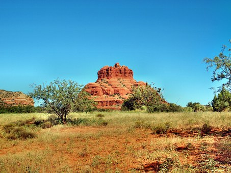 Arizona, Sedona, Bell Rock, Red Rock, America