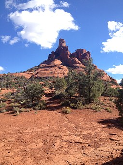 Bell Rock, Sedona, Arizona, Bell, Rock, Red, Tourism