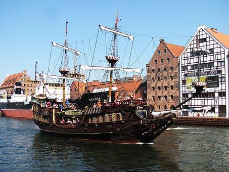 The Ship, Ship, Port, Sea, Tourism, Boat, Monument