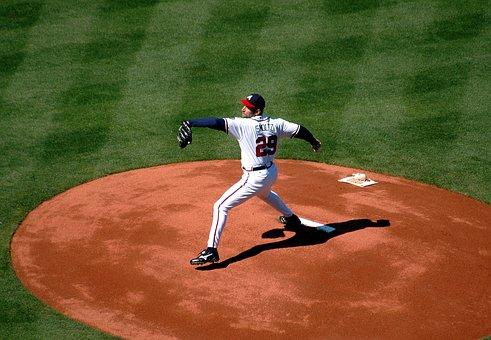 Baseball, Pitcher, Major League, Stadium, Ball, Sport