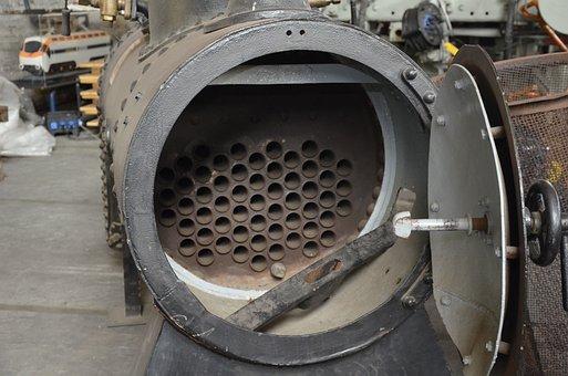 Steam Boilers, Railway, Steam Locomotive, Force