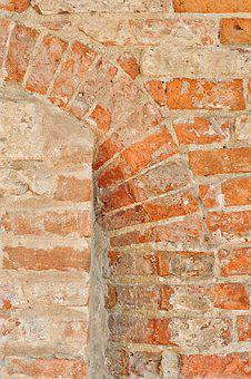 Wall, Bricks, Building, Plaster, Texture, Paint
