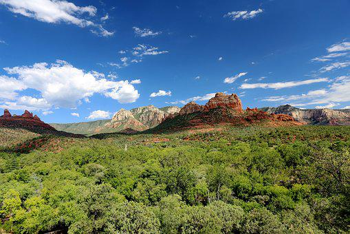 Sedona, Arizona, Rock, Travel, Valley, Tourism, Park