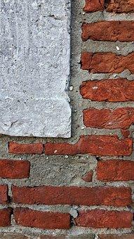Wall, Color, Texture, Sassi, Fossils, Rocks, Bricks