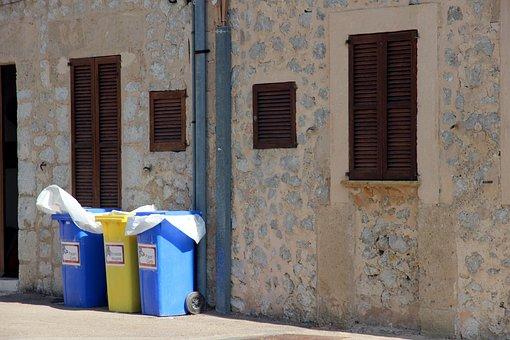 Mülltonnen, Waste Separation, Disposal, Garbage, Waste