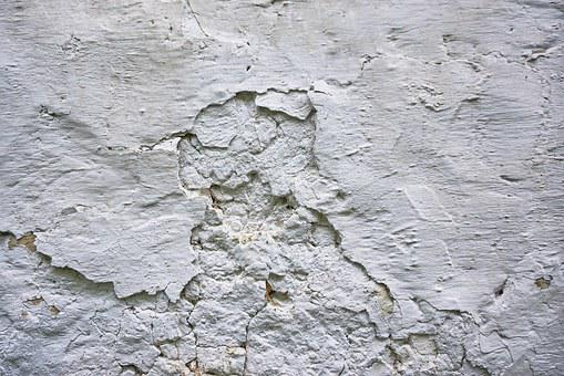 The Background, Texture, Wall, Old, White, Cracks