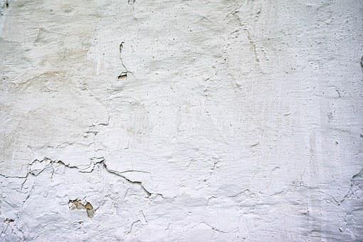 The Background, Texture, Wall, White, Old, Cracks