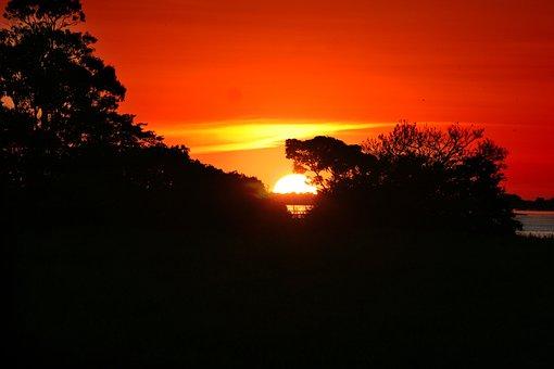 Amazonia, Sunset, Amazon River