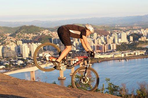 Enduro, Mtb, Moutain Bike, Sunset, Bike, Pilot, Beach