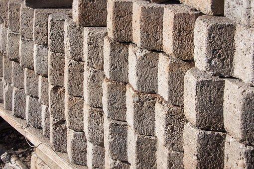 Paving Stones, Concrete, Flooring, Pattern, Structure