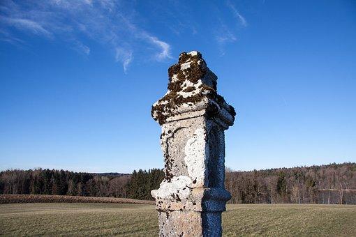 Landmark, Old, Bemoost, Mark, Border, Arable, Forest