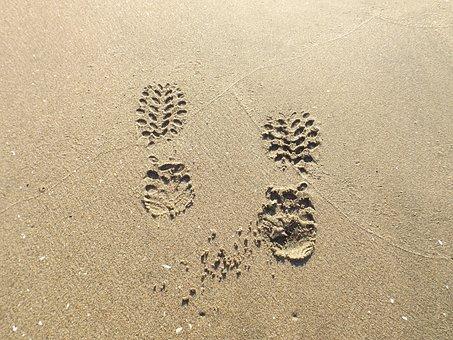 Beach, I Took, Holiday, Work, People, Path