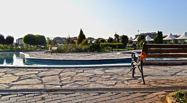 Park, Konya, Turkey, Holiday, Solar Beam