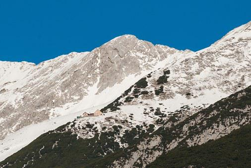 Bettelwurfhütte, Signalkopf, Alpine Hut, House, Alps
