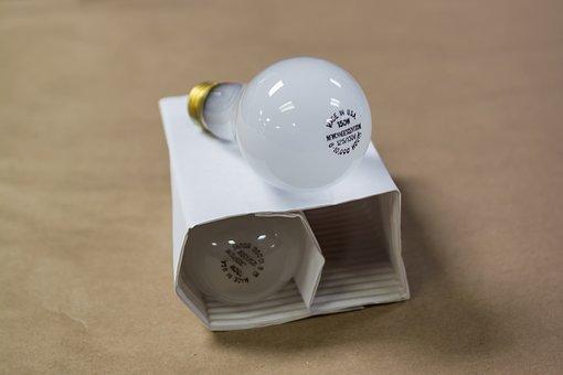 Incandescent, Glass, Bulb, Light, Lamp, Filament