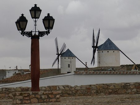 Mill, Windmill, Windmills, Mill Museum, Sky, Lantern