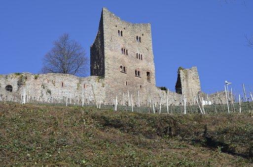 Castle Schauenburg, Castle Ruins, Germany, Oberkicrh