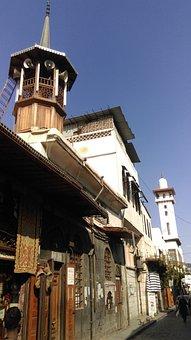 Midhat Basha Road, Old Damascus, Syria, Travel, Tourism